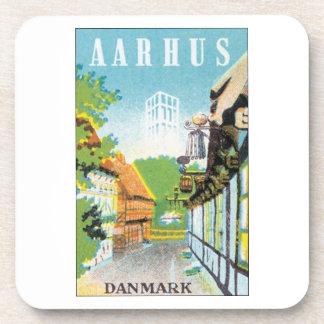 AARHUS, Danmark Drink Coasters