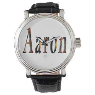 Aaron Boys Name Logo, Watch