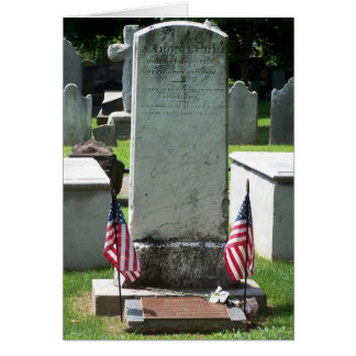 Aaron Burr Jr. Card