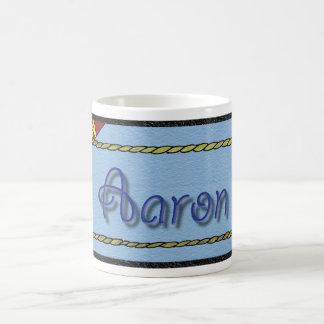 Aaron Personalized Sports Basic White Mug
