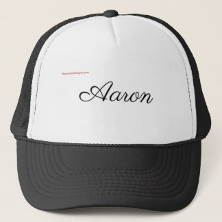 aaron trucker hat