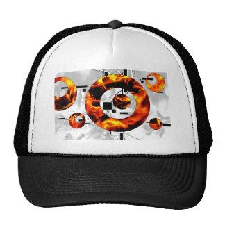 ab02 Abstract Fun Art Design Color Cap