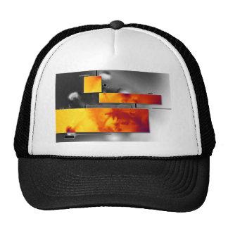 ab16 Abstract Fun Art Design Color Cap