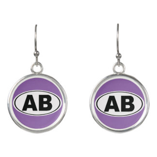 AB Atlantic Beach Florida Earrings