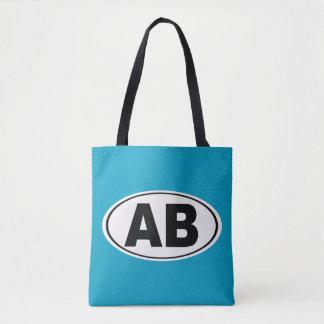 AB Atlantic Beach Florida Tote Bag