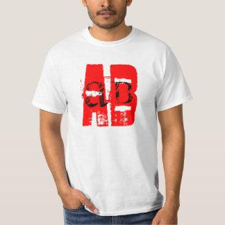 AB- Blood Type Tee Shirt