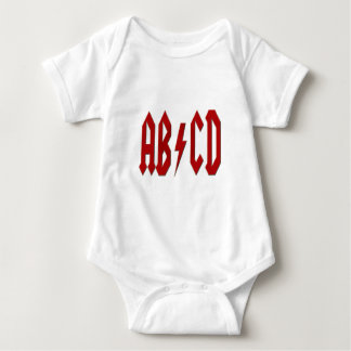 AB/CD BABY BODYSUIT