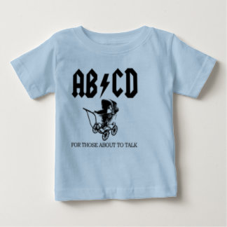 AB/CD- For those about to talk AC/DC Baby Baby T-Shirt