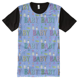 AB/DL | Adult Baby print | Baby 4 Life All-Over Print T-Shirt