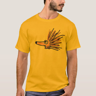 AB- Funky Porcupine Cartoon T-shirt