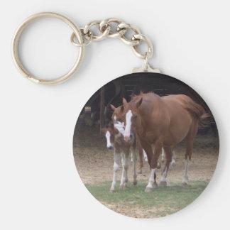 AB- Horses Key Chain