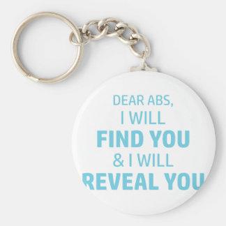 Ab Reveal Key Ring