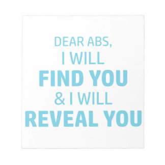 Ab Reveal Notepad