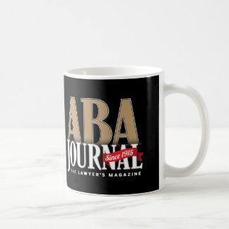 ABA Journal Coffee Mug (Black on White)