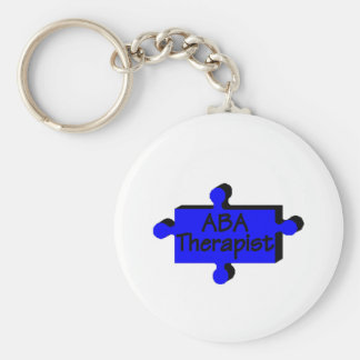 ABA Therapist (Blue P) Key Ring