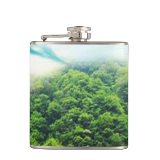 Abalone-Lake Hip Flask