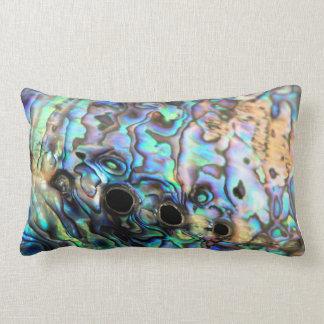 Abalone paua shell pillow