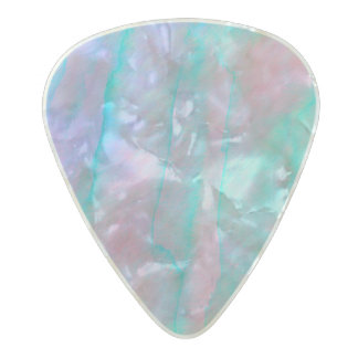 Abalone Shell Watercolor mother-of-pearl Stone Pearl Celluloid Guitar Pick