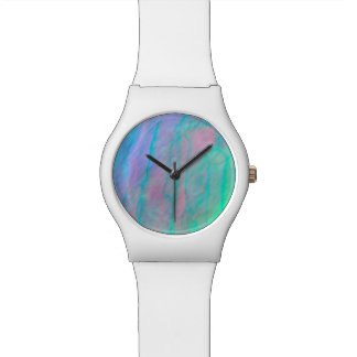 Abalone Shell Watercolor Mother of Pearl Stone Watches