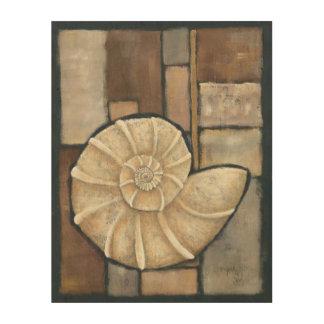 Abalone Shell Wood Wall Decor