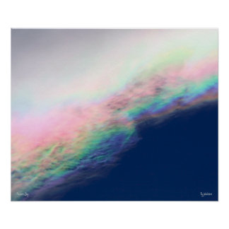 Abalone Sky Poster