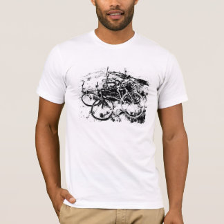 abandoned bicycles T-Shirt