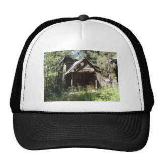 Abandoned Cabin in the Woods Cap