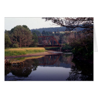 Abandoned CNR Trestle Bridge and Line Card