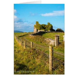 Abandoned Cottage Co. Kildare, Ireland. Card