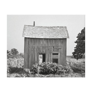Abandoned Farmhouse 1939 Canvas Prints