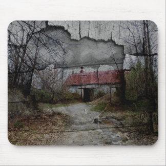 Abandoned Farmhouse Mousepad