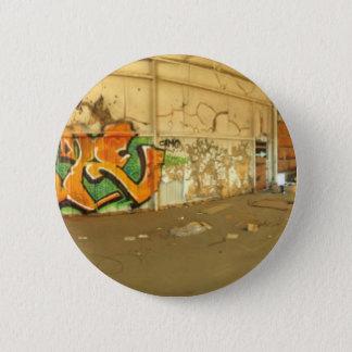 Abandoned Graffiti 6 Cm Round Badge