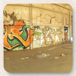 Abandoned Graffiti Coaster