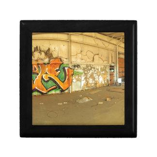 Abandoned Graffiti Gift Box