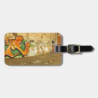 Abandoned Graffiti Luggage Tag