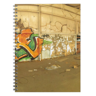 Abandoned Graffiti Notebook