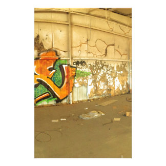 Abandoned Graffiti Stationery