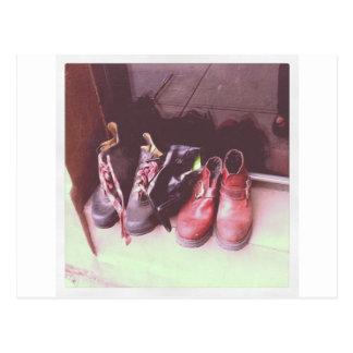 Abandoned Kicks Postcard