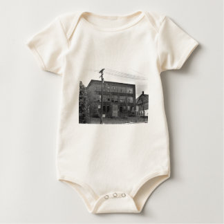 Abandoned Manufacturing Building Baby Bodysuit