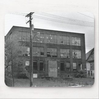 Abandoned Manufacturing Building Mousepads