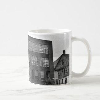 Abandoned Manufacturing Building Mug