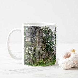Abandoned monastery coffee mug