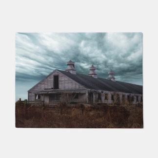 Abandoned New England Dairy Farm Doormat