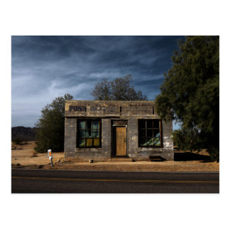 Abandoned Post Office in Kelso California Postcard