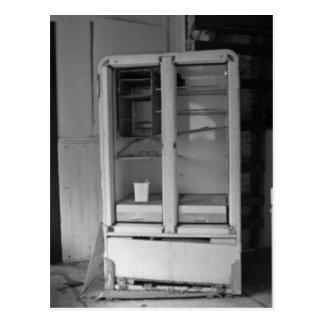 Abandoned Refrigerator Postcard