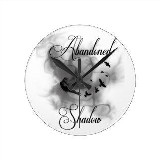 Abandoned Shadow Round Clock