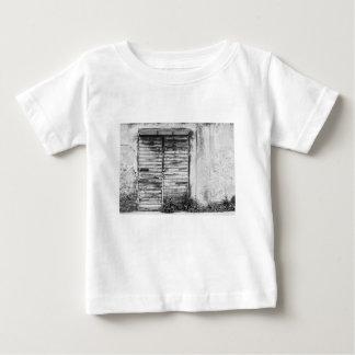 Abandoned shop forgotten bw baby T-Shirt