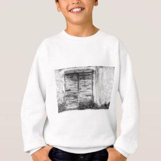 Abandoned shop forgotten bw sweatshirt