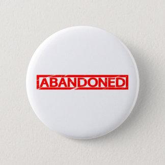 Abandoned Stamp 6 Cm Round Badge