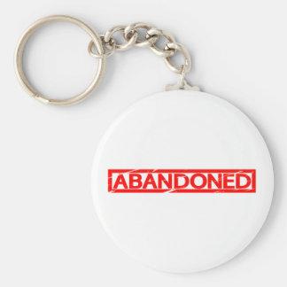 Abandoned Stamp Key Ring